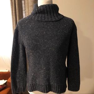 Madewell chunky cropped turtleneck